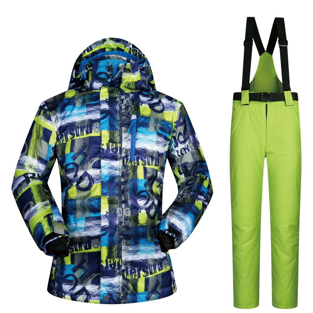 Men Ski Suits Brands 2018 Winter Hot Sale Outdoor Snow Jacket Sets And Pants Waterproof Themal Skiing And Snowboarding Suits Men