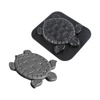 Turtle Shape Stepping Stone Mold Paving Floor Mould Floor Tile Patchwork Plastic Floor Mould For Lawns Parks Gardens Path