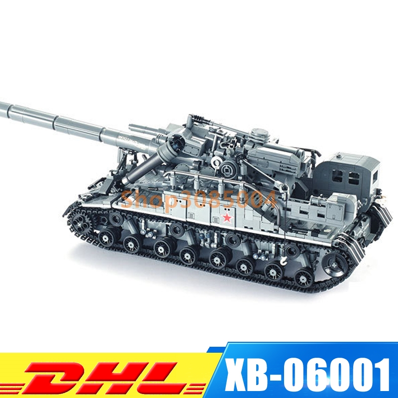 XingBao 06001 Block 1832Pcs Creative MOC Military Series The T92 Tank Set Education Building Blocks Bricks Toys Educational Toy [small particles] buoubuou creative puzzle toy toy bricks 30 16219 new military military series