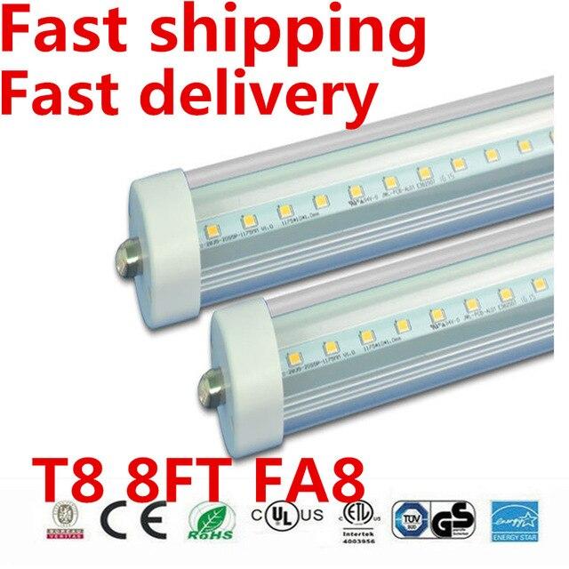 8 Ft 2 Lamp Fluorescent Strip Light White No Ssf2964wp 8ft: 8 Feet Led 8ft Single Pin T8 FA8 Single Pin LED Tube