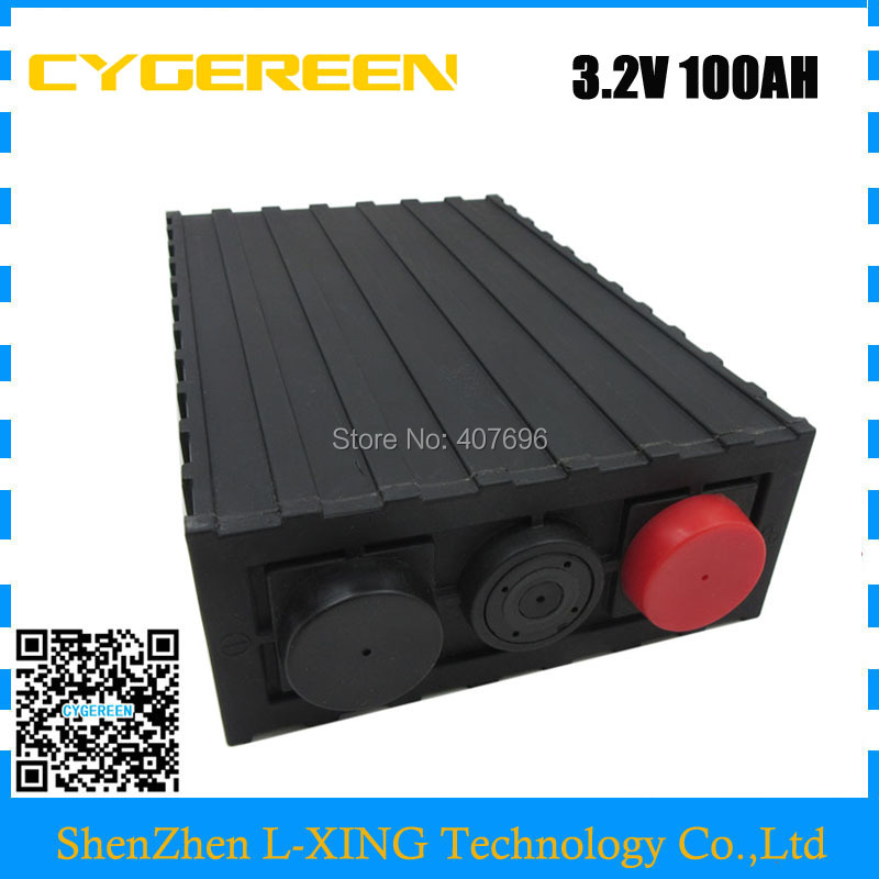 EU US no tax 3 2V 100AH LiFePO4 Battery high quality for Energy storage Charging system