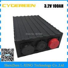 Ue US pas de taxe 3.2 V 100AH LiFePO4 batterie de haute qualité pour le stockage d'énergie/système de charge/système d'énergie solaire