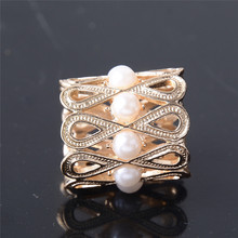 Women Wedding Jewelry Accessories Imitation Pearl Hollow Out Flower Shawl Scarf Scarves Buckle Clips Brooches pin