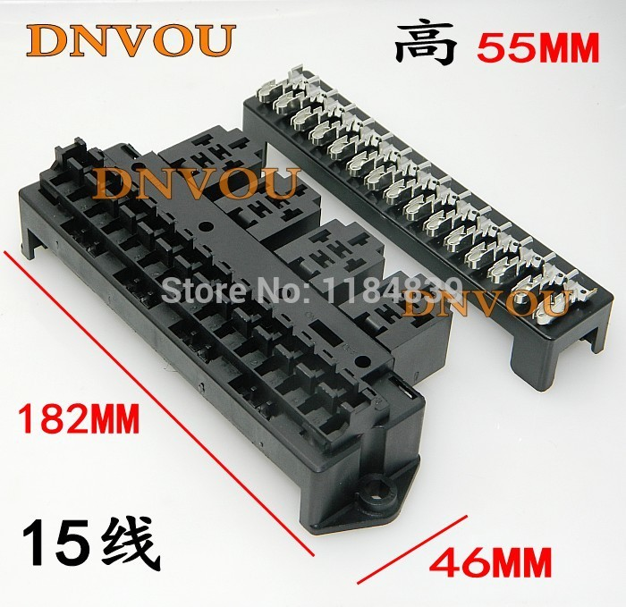 Car seat relay fuse box 15 road engine compartment insurance car insurance holder jd2912 car relay