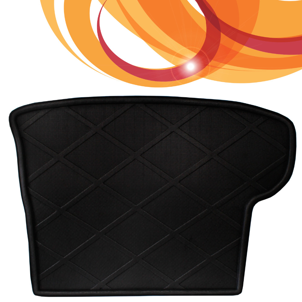 Black 3D Waterproof Car Truck Cargo Mat Dustproof All WeatherRearTray Liner Fit For Toyota Highlander 2015
