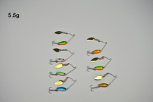 BassLegend- Metal Bait Mini Spinnerbait Bass Pike Trout Chub Lure Jigging Spoon 3.5g/5.5g/7g