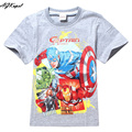 2017 Brand T Shirt Captain America Children Kids Baby T-Shirts Cotton Tops Baby Boy Tshirt Boys T Shirts For Boys Clothing