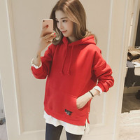 Casual Solid Nursing Hoodies Tops Maternity Clothes With Hood Breastfeeding Hoodies Nursing Sweatershirt For Maternity Women