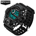SANDA 2017 Sport Watch Men Top Brand Luxury Famous LED Digital Wrist Watch Male Clock Electronic Man Hodinky Relogio Masculino
