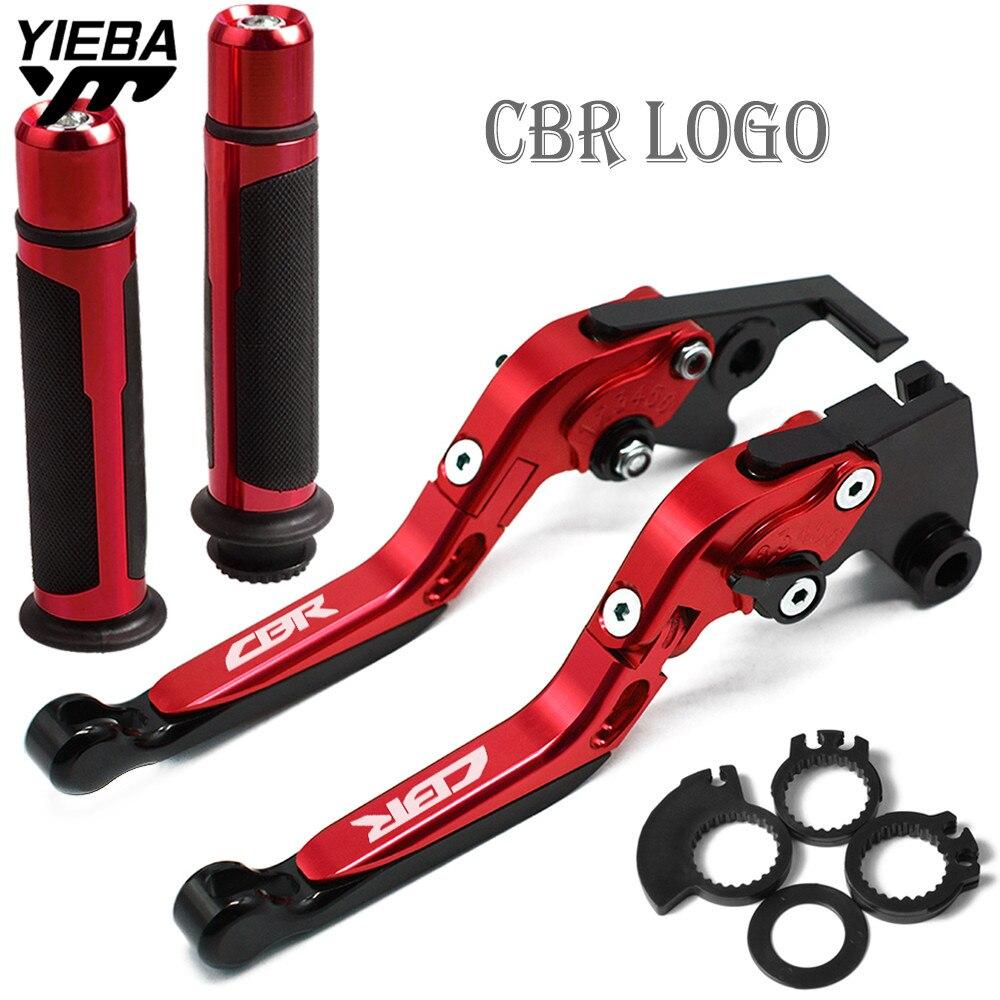 Accessoires moto pliant frein embrayage leviers guidon poignée poignées moto pour HONDA CBR600F CBR 600 F 2011 2012 2013