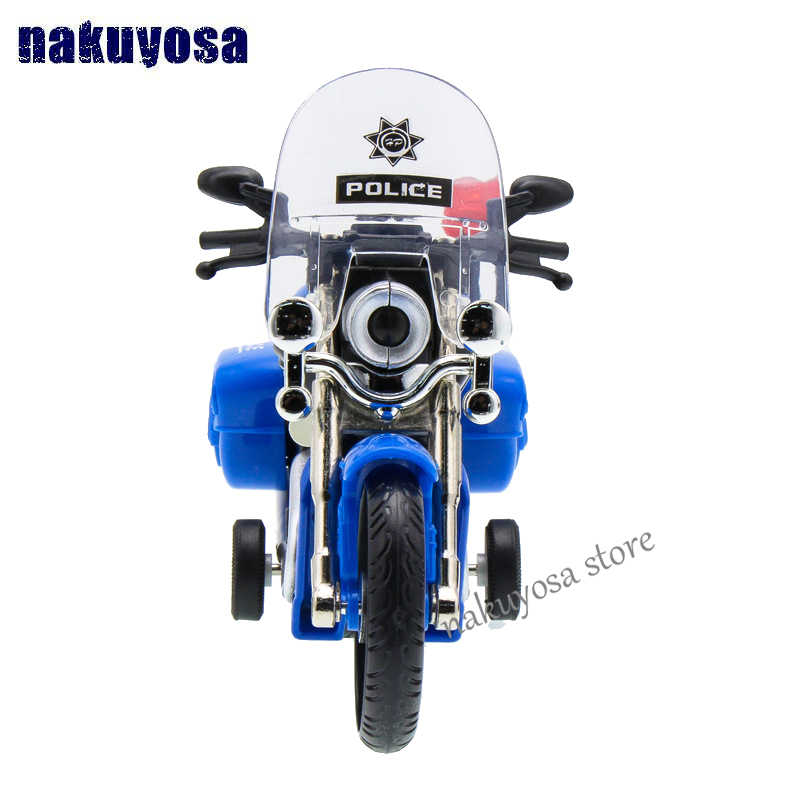Simulasi Tinggi Model Yamaha Sepeda Motor Patroli Mobil Polisi Mainan Acousto Optik Paduan Mobil Patroli Hadiah Mainan Anak
