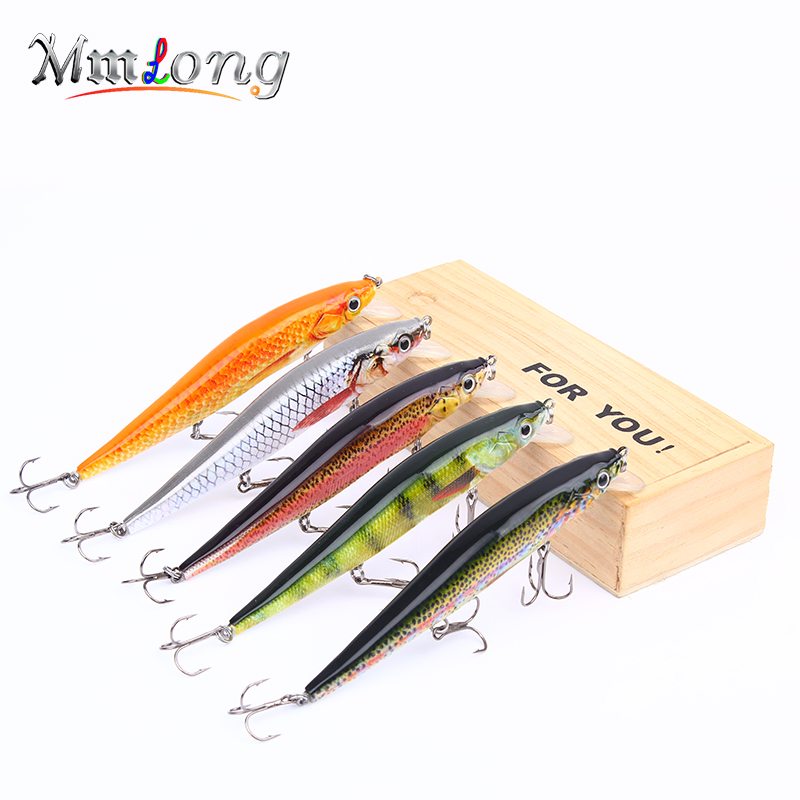 Mmlong 3pc 2.6 3.5 4.7 Realistic Minnow Fishing Lure Lifelike Fishing Bait Hard Crankbait Fish Tackle Wobbler Pesca HML09M mmlong 12cm realistic minnow fishing lure popular fishing bait 14 6g lifelike crankbait hard fish wobbler tackle pesca ah09c