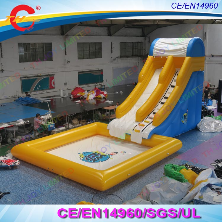 Inflatable Water Slides For Sale: Big Water Slides For Sale Inflatable Water Slide With Pool