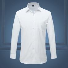 Белая, Черная Мужская рубашка, смокинг для жениха, лучшие мужские Женихи, мужские рубашки для свадьбы, официальные Мужские рубашки для особых случаев, M-XXXXL 4XL