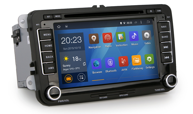buy android 4 4 4 stereo for vw passat b5. Black Bedroom Furniture Sets. Home Design Ideas