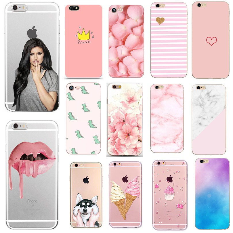 Case For capinha para iphone 6s 6 S Silicon Cover For Iphone 7 Iphone8 X XS 7 8 Plus 7Plus 8Plus 5 5S SE Case Phone accessories image
