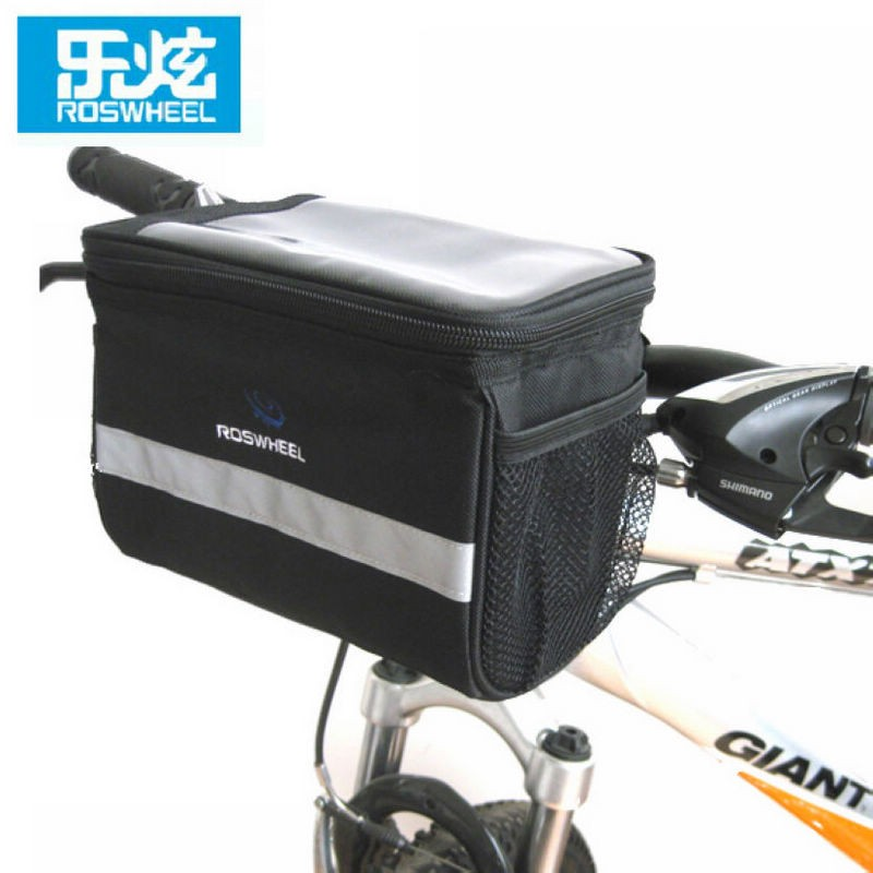 Cycling Bag Waterproof Durable Front Tube Frame MTB Bike Triangle Pouch Sporter