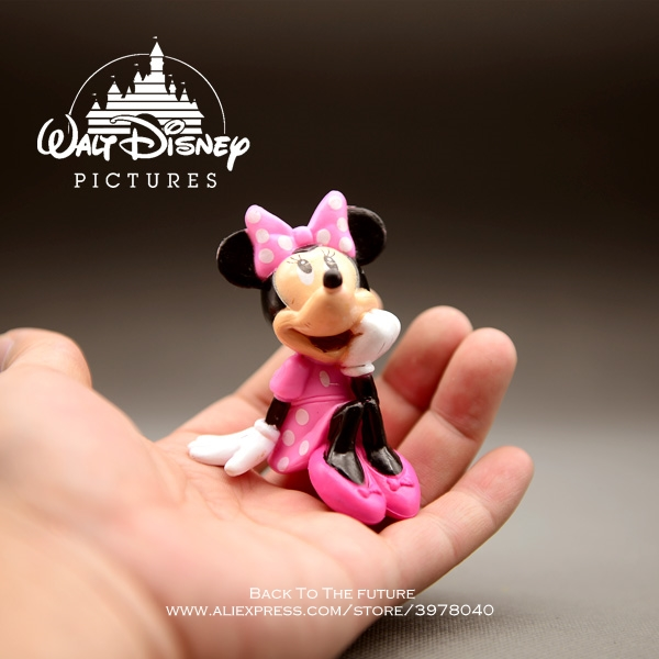 Disney Mickey Mouse Minnie sitting posture 8cm Action Figure Anime Decoration Collection Figurine Toy model for children giftDisney Mickey Mouse Minnie sitting posture 8cm Action Figure Anime Decoration Collection Figurine Toy model for children gift