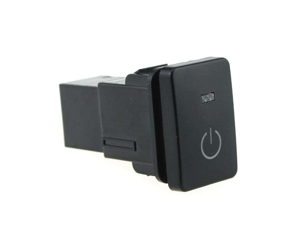 IZTOSS Blaue LED 5pin Power Lichter Druckschalter mit Stecker Draht ...