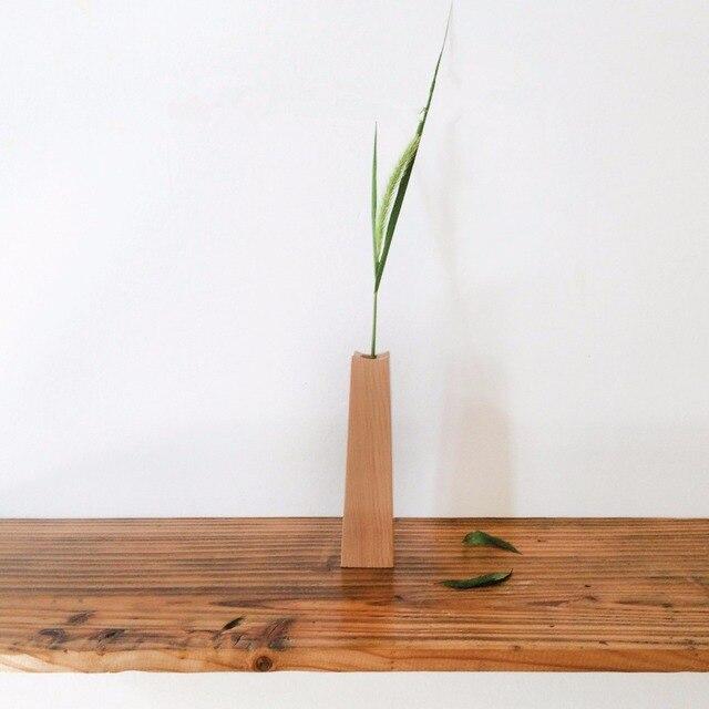 Neue Dekorative Blumenvase Holz Blumentopf Dekorative