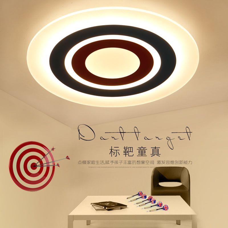 Surface Mounted Ceiling Lights Modern Led lamparas de techo acrylic Ceiling lamp light fixtures for kids room Children room modern led ceiling lights for children acrylic led dimming ceiling lamp 110v 220v round ceiling fixtures lights sourface mounted