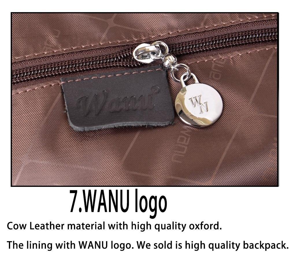WANU Модные непромокаемые Оксфордские рюкзаки для женщин Красный роскошный рюкзак женские милые сумки бренд Hign качество рюкзак подарок