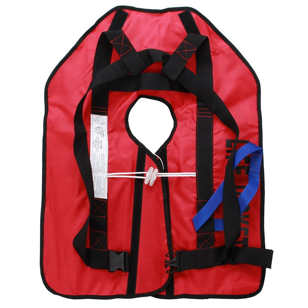 outdoor Water Sports Adult Foam Flotation Swimming Life Jacket Vest Mannul Automatic Universal Swimming Boating Ski Vest