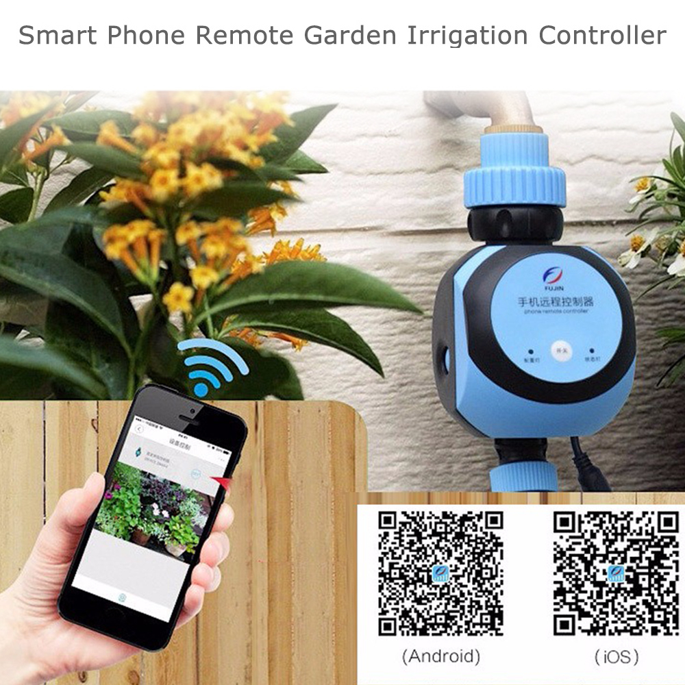 Inexpensive Remote Watering System