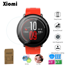 купить TPU Soft Clear Protective Film Guard For Xiaomi Huami Amazfit Pace Sport Watch Screen Protector Cover-@ дешево