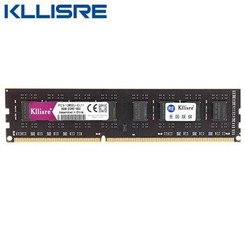 Kllisre DDR3 8GB 1600MHz 1333MHz Memory Ram Desktop pc DIMM