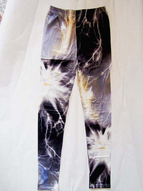 7 Types Of Galaxy Space Printed Leggings