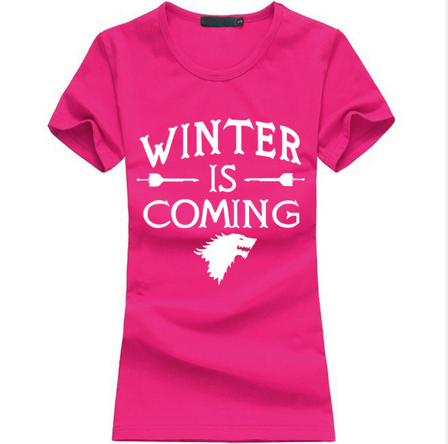 """Game of Thrones – """"Winter is Coming"""" Women T-shirts"""