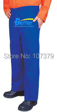 FR Clothing FR Trousers Flame Retardant Welding Clothing FR Cotton Coverall  FR Cotton Welding Clothes fire fox 100% fr cotton blue jeans work trousers sweat absorbing breathable flame resistant welding clothing