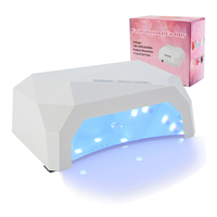 36W UV LED Lamp Nail Dryer Diamond Shaped LED Nail Lamp Curing For UV Gel Nails