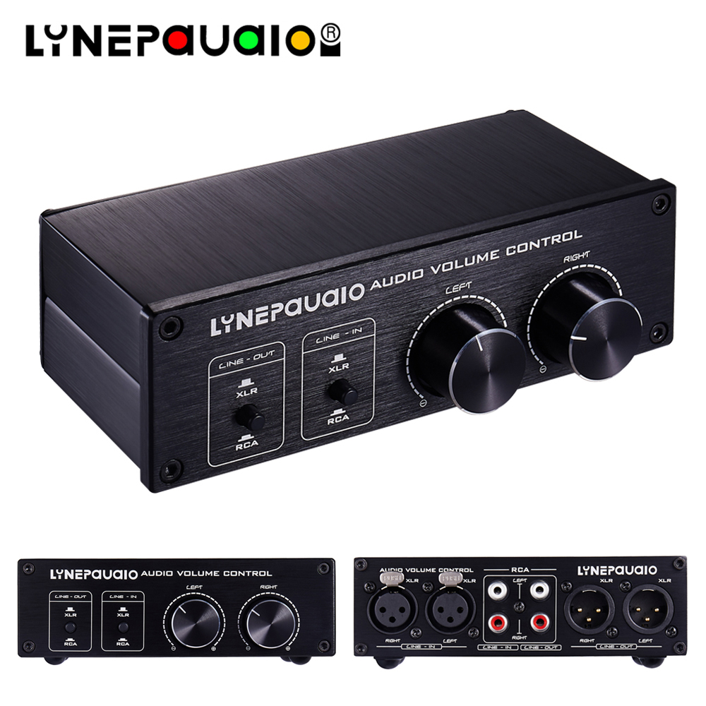 2 entrées 2 sorties Audio interrupteur réglage du Volume contrôle du Volume entièrement équilibré passif avant actif haut-parleur contrôle du Volume