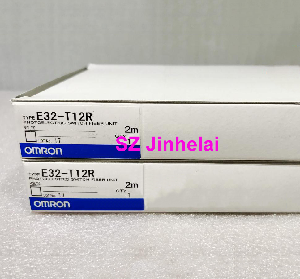 E32-T12R Authentic original OMRON PHOTOELECTRIC SWITCH FIBER UNIT