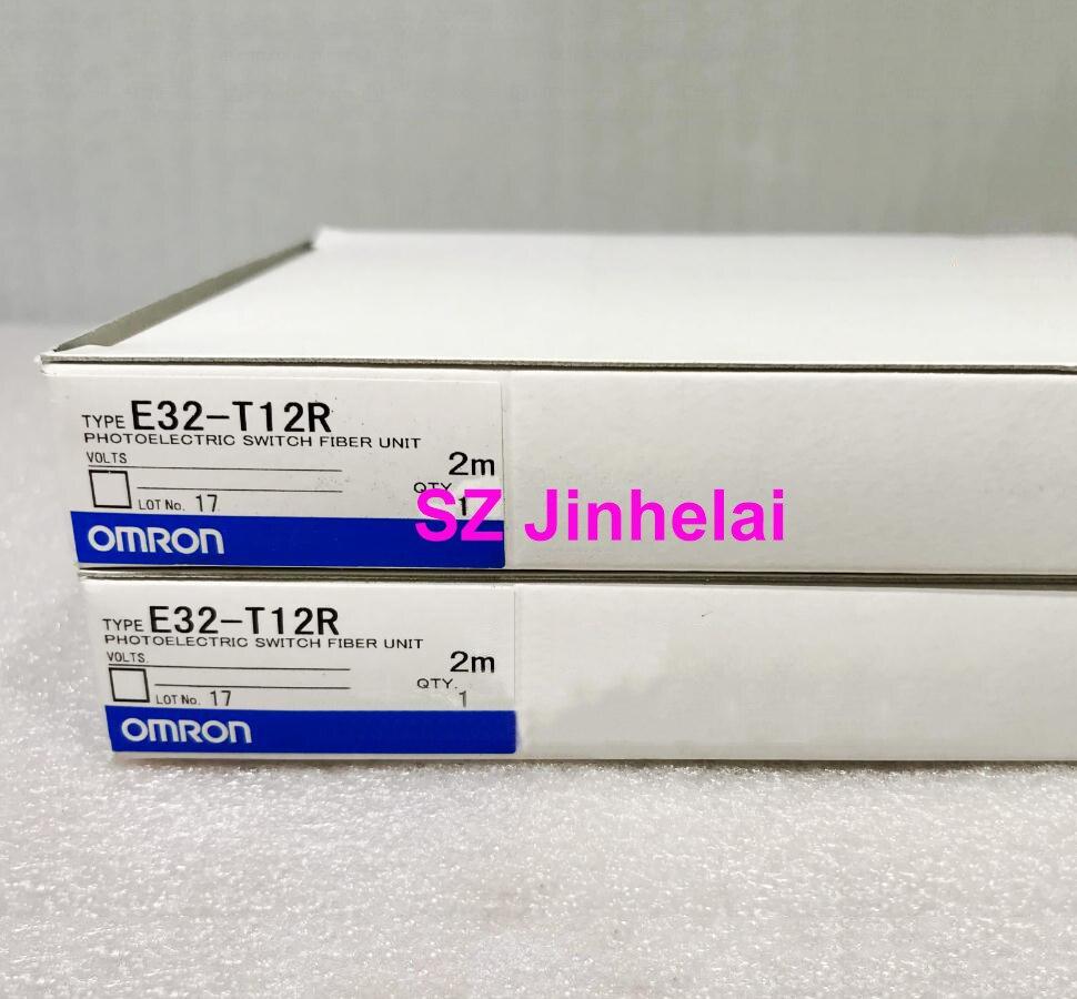 OMRON E32-T12R  Authentic original PHOTOELECTRIC SWITCH FIBER UNIT
