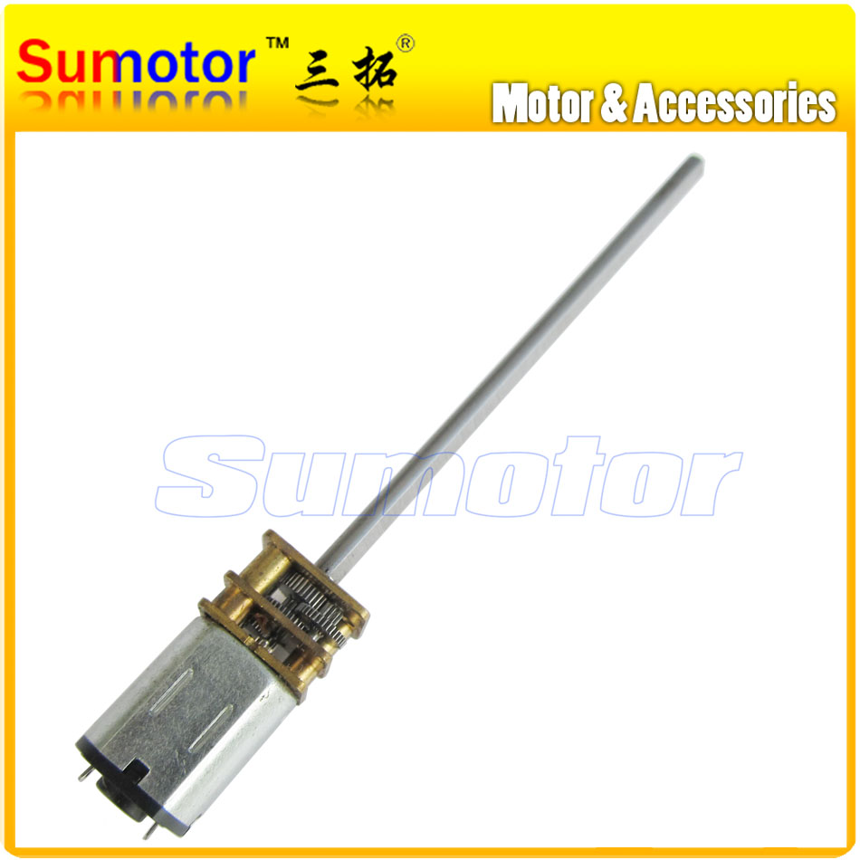 12GA DC 3V 6V 12V Long shaft Micro Electric Reduction Metal Gear Motor DIY engine for RC smart car Robot model Electric lock цена 2017