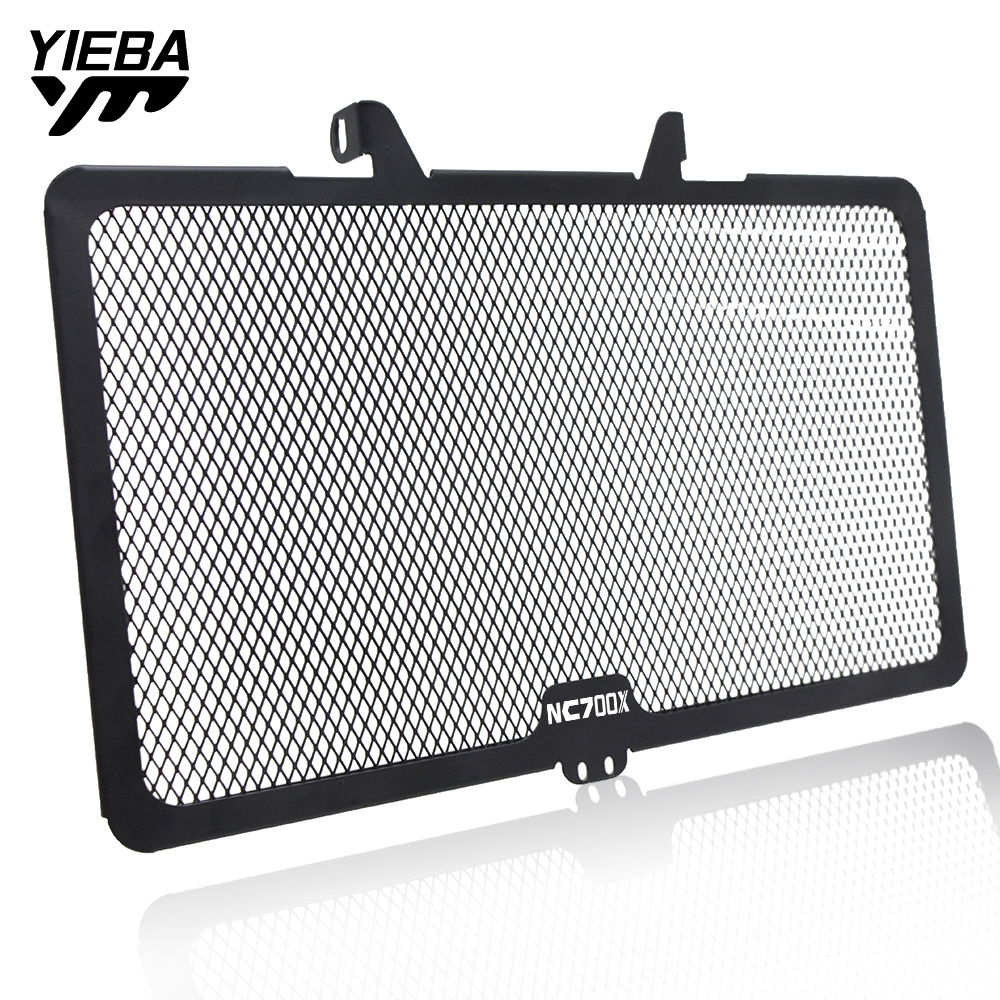 Black Motorcycle Accessories Radiator Grille Guard Cover Radiator For <font><b>Honda</b></font> NC700X <font><b>NC</b></font> <font><b>700X</b></font> <font><b>NC</b></font>-<font><b>700X</b></font> 2012-2014 2013 2014 Iron image