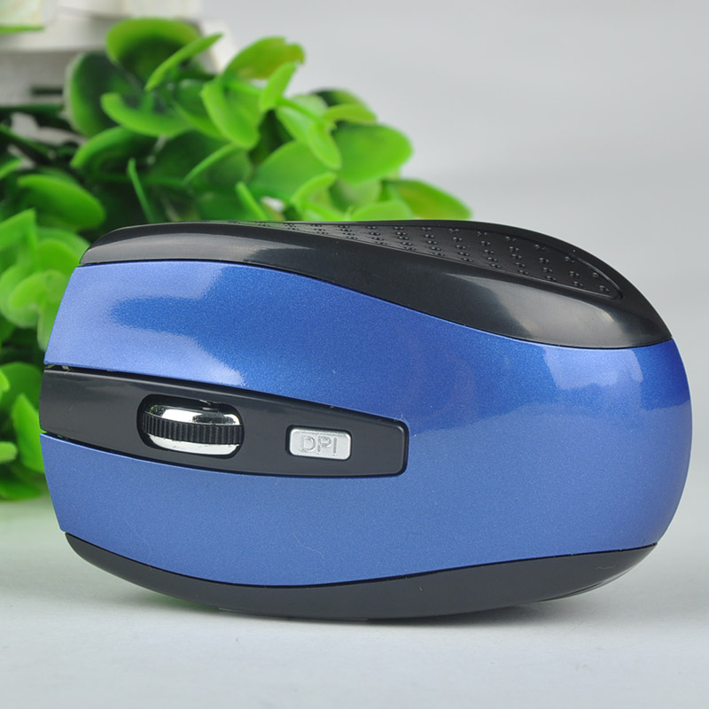 Ergonomically-designed 2.4GHz Wireless USB Receiver Mouse Optical Mice Professional PC Gaming Mouse For Windows2000/XP/Win7
