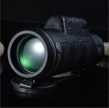 High Quality Monocular 40x60 Powerful Binoculars Zoom Field Glasses Great Handheld Telescope Military HD Professional Hunting цена 2017
