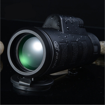 High Quality Monocular 40x60 Powerful Binoculars Zoom Field Glasses Great Handheld Telescope Military HD Professional Hunting image