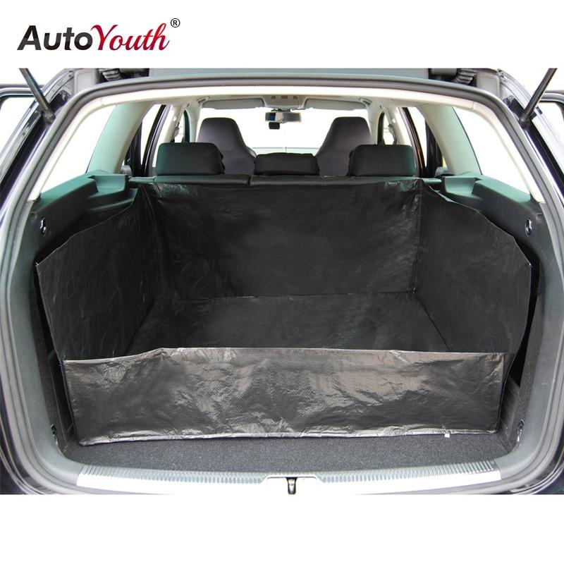 buy autoyouth pe tarpaulin car trunk mat liner waterproof car protection. Black Bedroom Furniture Sets. Home Design Ideas