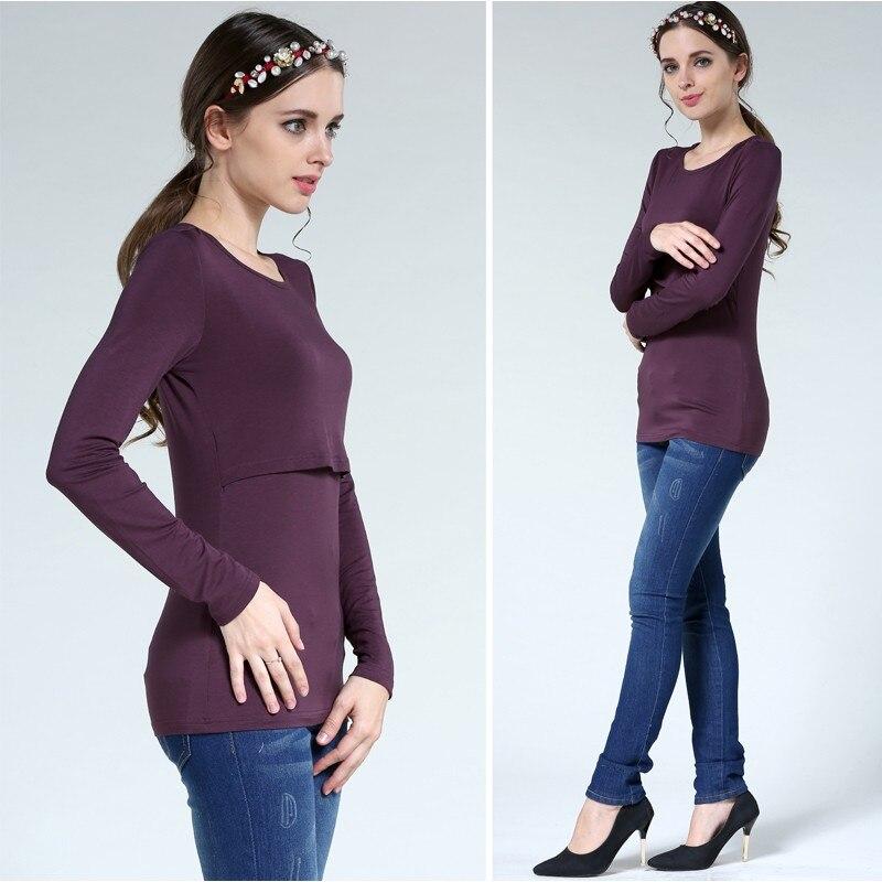 para grávidas amamentação topos para grávidas enfermagem superior camiseta