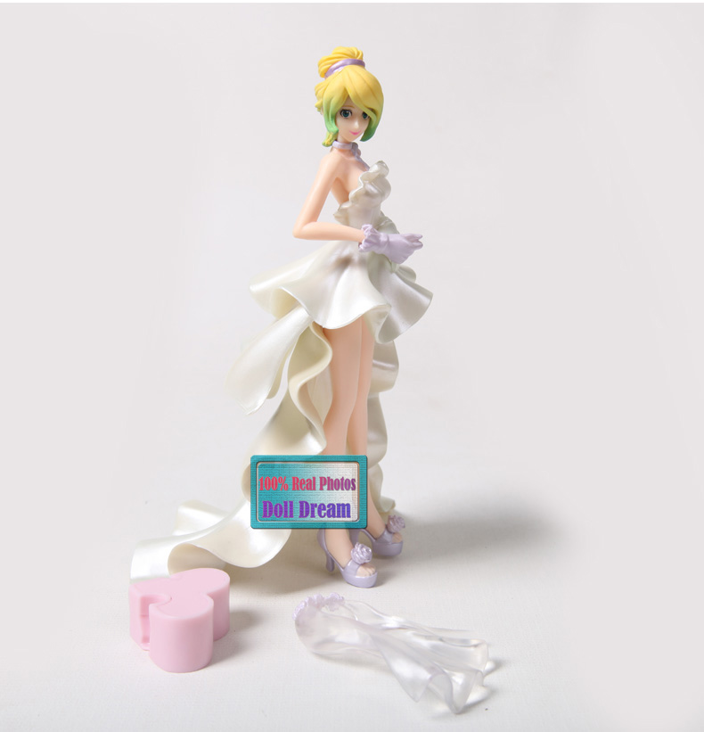 Japanese original anime figure 15cm Lupin III Rupan Sansei Rebecca wedding dress ver action figure collectible model toys for bo-in Action & Toy Figures from Toys & Hobbies    1
