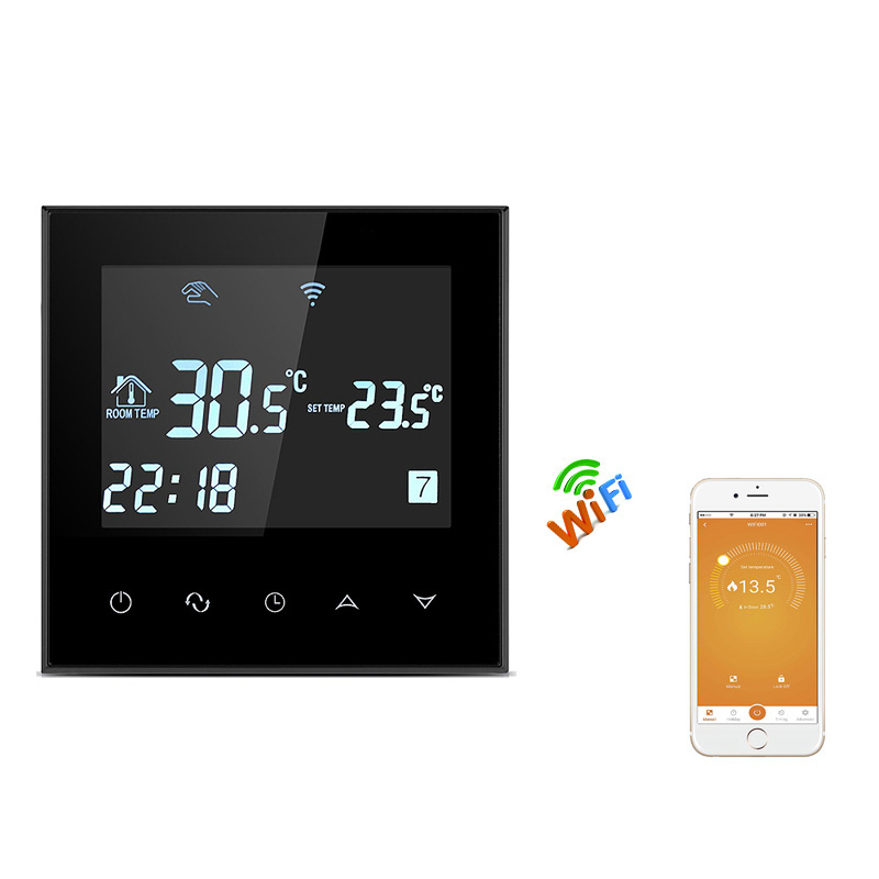 Intelligent Electric Floor Heating Temperature Controller App Wifi Remote Control Room Thermostat