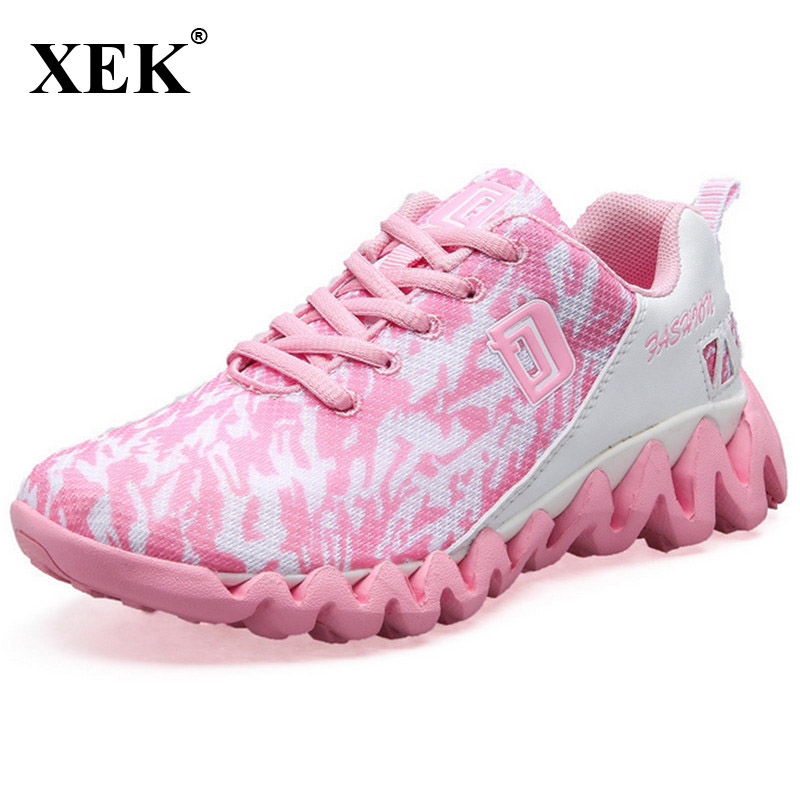 XEK 2017 New font b Men b font Women Sports Sneakers Running font b Shoes b