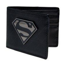 Видел супермен мультфильм бумажник кошелек Молодых студентов кошелек личность Синий супермен бумажник холст DFT-1328