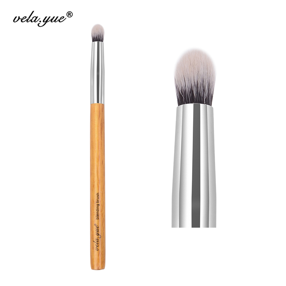 vela.yue Pointed Crease Brush Tapered Blending Brush Eyeshadow Makeup Cosmetics Beauty Tool
