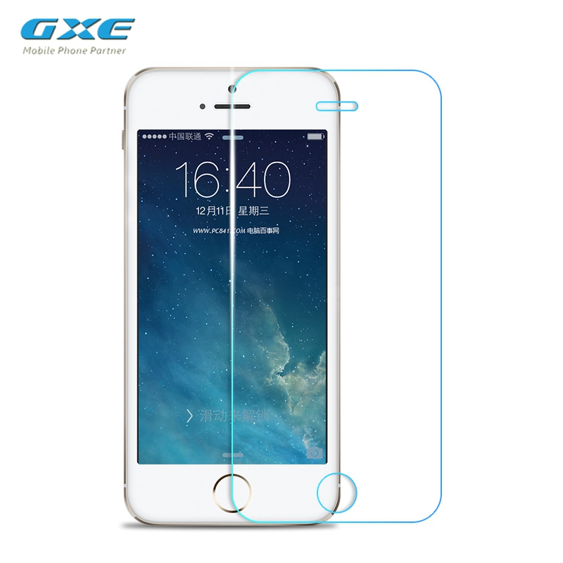 GXE 2.5D 9H Premium Tempered Glass For IPhone 5SE SE Phone Screen Protector LCD Protective Film (Not Matte Glass)